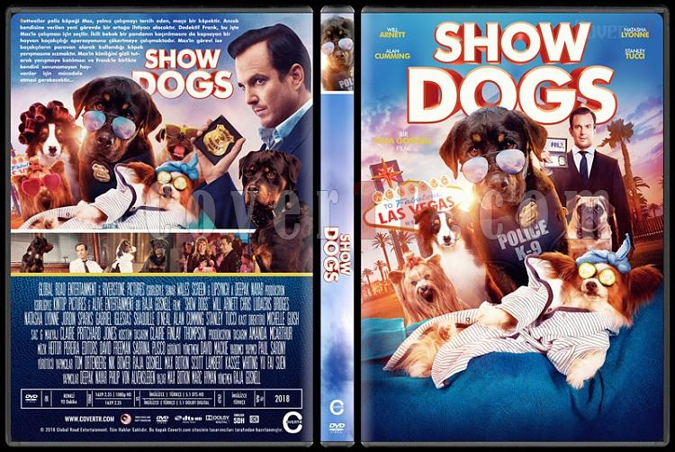 Show Dogs - Custom Dvd Cover - Türkçe [2018]-1jpg