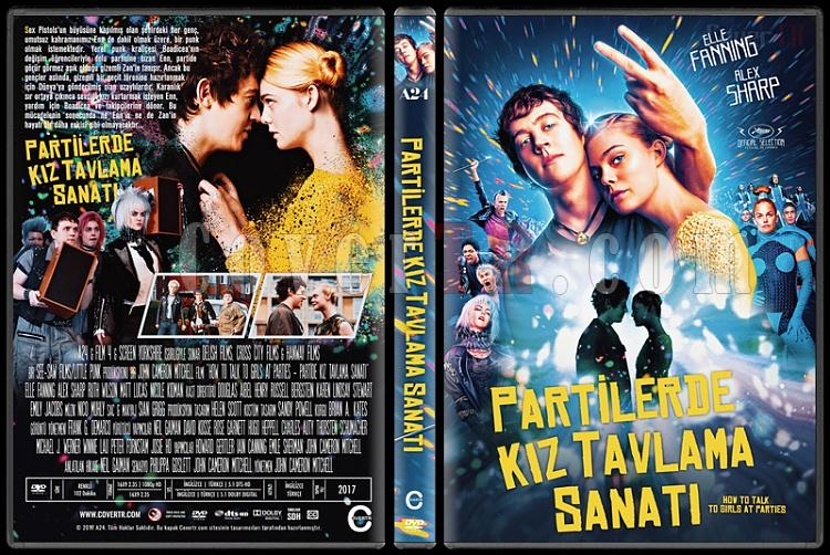 How to Talk to Girls at Parties (Partilerde Kız Tavlama Sanatı) Custom Dvd Cover - Türkçe [2017]-02jpg