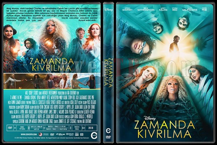 A Wrinkle in Time (Zamanda Kıvrılma) - Custom Dvd Cover - Türkçe [2018]-1jpg