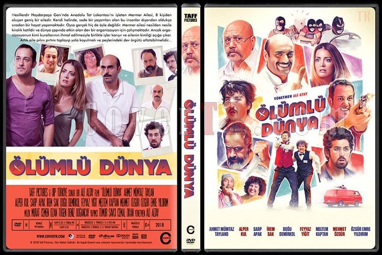 Ölümlü Dünya - Custom Dvd Cover - Türkçe [2018]-1jpg