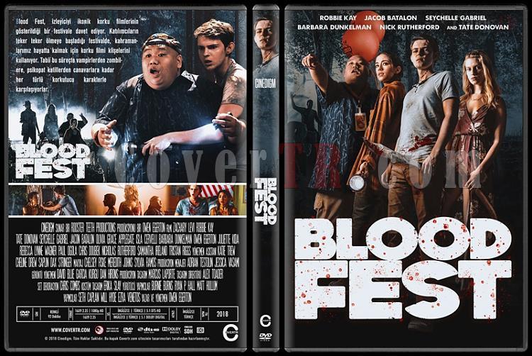 Blood Fest - Custom Dvd Cover - Türkçe [2018]-04jpg