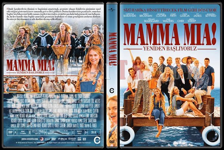 Mamma Mia! Here We Go Again (Mamma Mia! Yeniden Başlıyoruz) - Custom Dvd Cover - Türkçe [2018]-02jpg