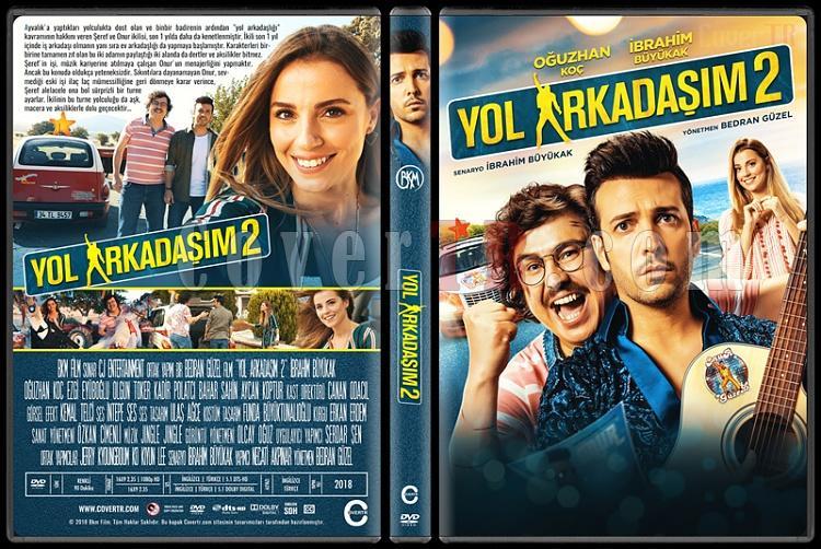 Yol Arkadaşım 2 - Custom Dvd Cover - Türkçe [2018]-1jpg