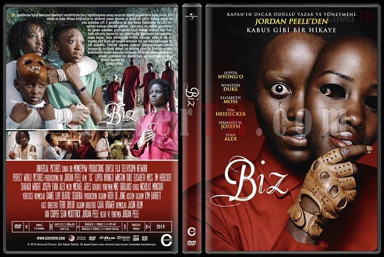 Us (Biz) - Custom Dvd Cover - Türkçe [2019]-1jpg