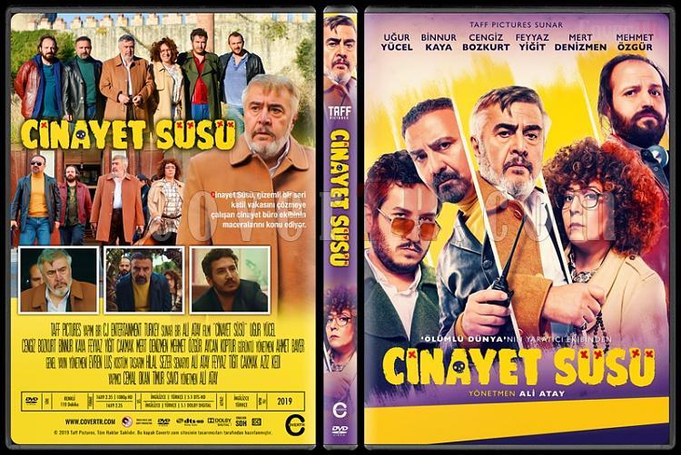 Cinayet Süsü - Custom Dvd Cover - Türkçe [2019]-1jpg