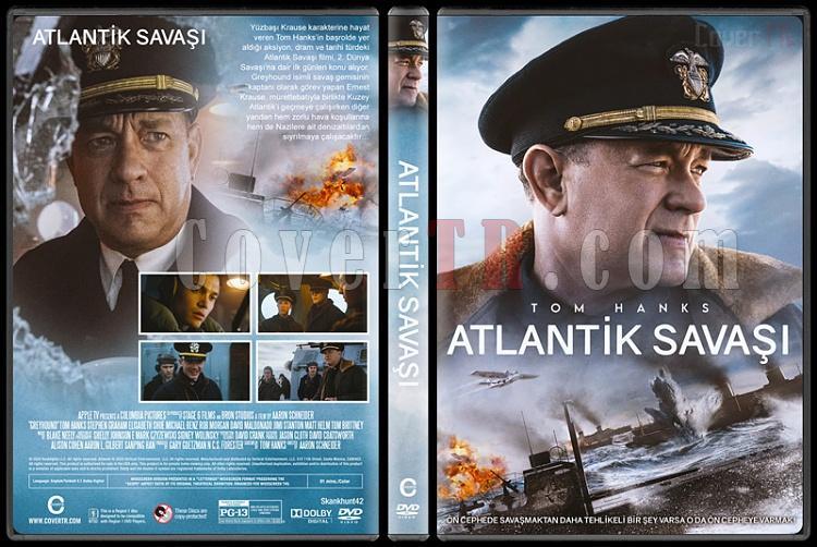 Greyhound (Atlantik Savaşı) - Custom Dvd Cover - Türkçe [2020]-1jpg