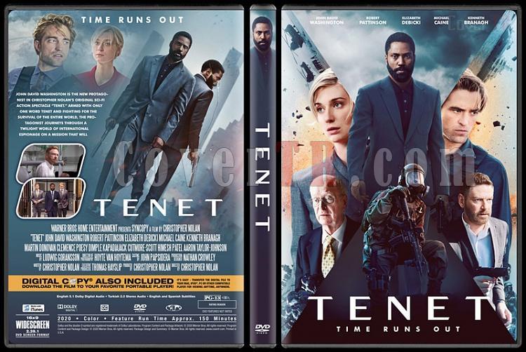 Tenet - Custom Dvd Cover - Türkçe [2020]-1jpg