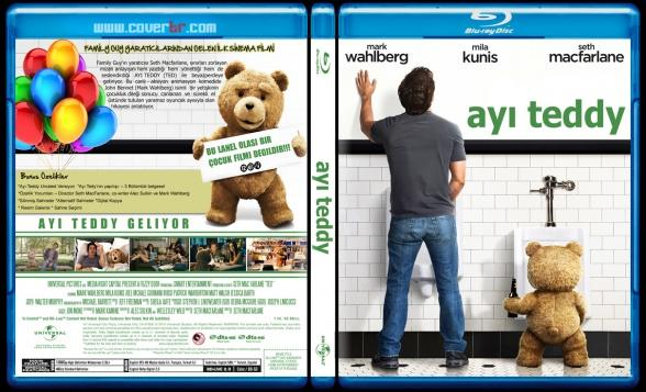 Ted (Ayı Teddy) - Custom Bluray Cover - Türkçe [2012]-teddyjpg