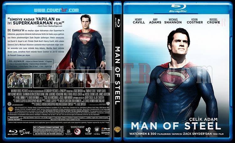 Man of Steel (Çelik Adam) - Custom Bluray Cover - Türkçe [2013]-man-steel-trjpg