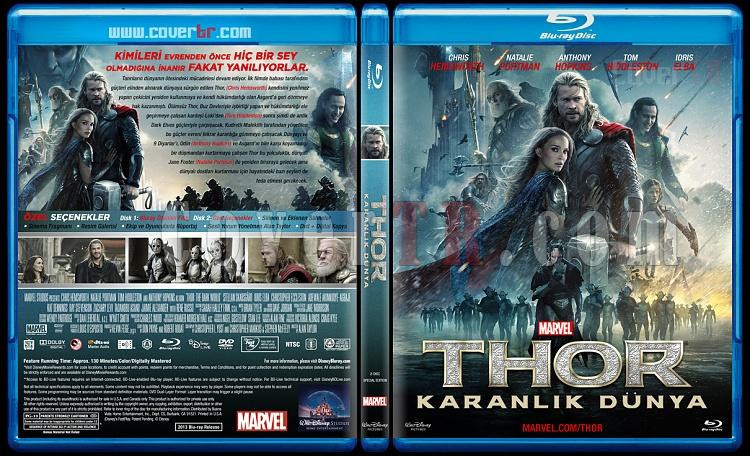 Thor: The Dark World (Thor: The Dark World) - Custom Bluray Cover - Türkçe [2013]-thor-dark-world-thor-karanlik-dunya-bluray-cover-turkce-riddick-izlemejpg