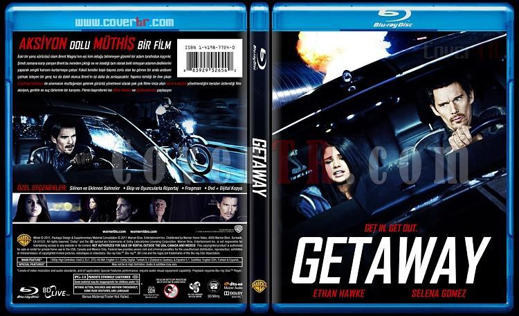 Getaway - Custom Bluray Cover - Türkçe [2013]-izlemejpg