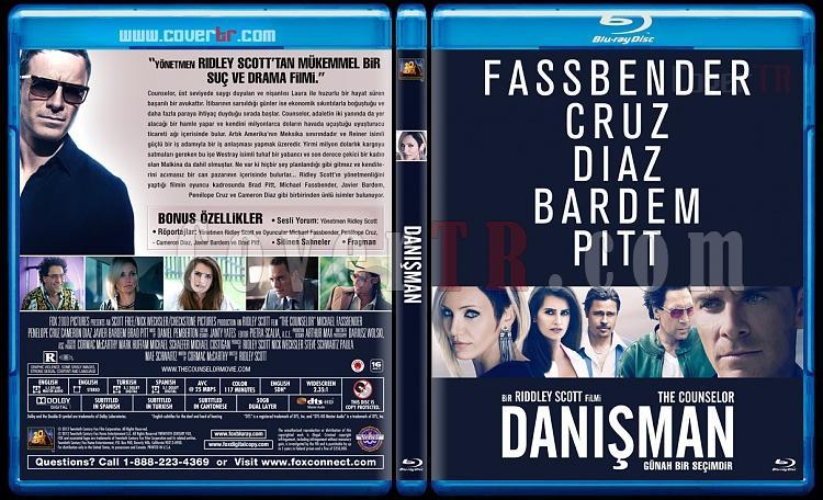 The Counselor (Danışman) - Custom Bluray Cover - Türkçe [2013]-danisman-v1jpg