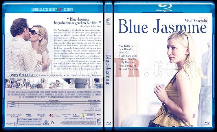 Blue Jasmine (Mavi Yasemin) - Custom Bluray Cover - Türkçe [2013]-brjpg