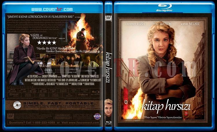 The Book Thief (Kitap Hırsızı) - Custom Bluray Cover - Türkçe [2013]-book-thiefjpg