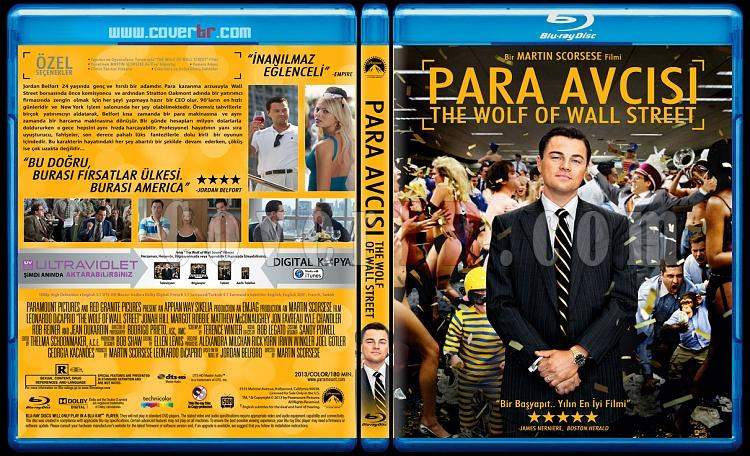 The Wolf of Wall Street (Para Avcısı) - Custom Bluray Cover - Türkçe [2013]-para-avcisijpg