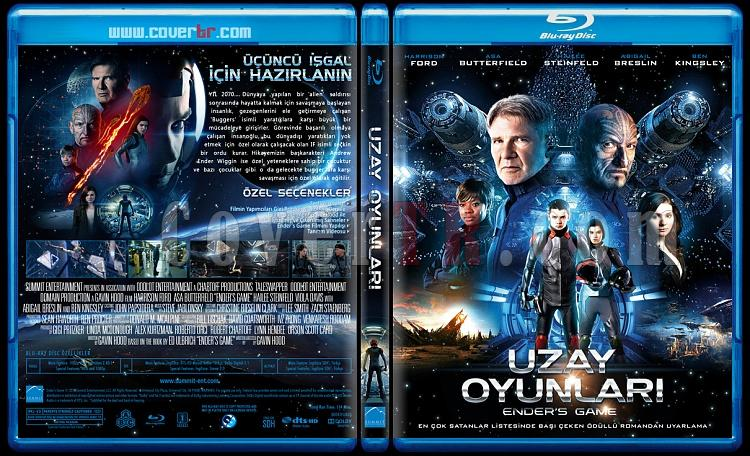 Ender's Game (Uzay Oyunları) - Custom Bluray Cover - Türkçe [2013]-blu-ray-1-disc-flat-3173x1762-11mmjpg