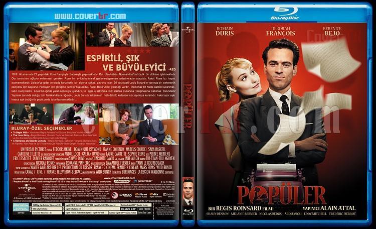 Populaire (Popüler) - Custom Bluray Cover - Türkçe [2012]-populerjpg