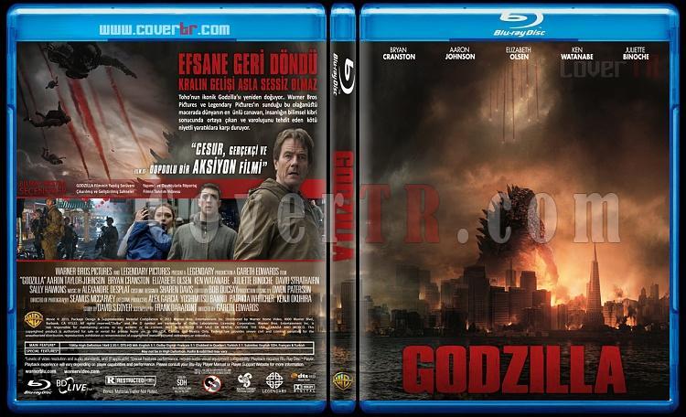 Godzilla - Custom Bluray Cover - Türkçe [2014]-godzillajpg