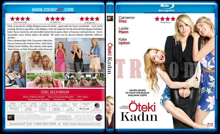 The Other Woman (Öteki Kadın) - Custom Bluray Cover - Türkçe [2014]-brjpg
