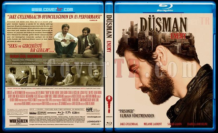 Enemy (Düşman) - Custom Bluray Cover - Türkçe [2013]-blu-ray-1-disc-flat-3173x1762-11mmjpg