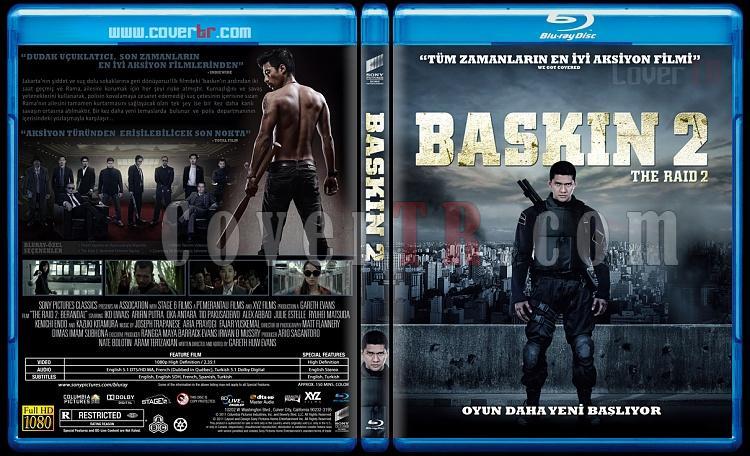 The Raid 2 (Baskın 2) - Custom Bluray Cover - Türkçe [2014]-raid-2-baskin-2-custom-bluray-cover-turkce-2014jpg