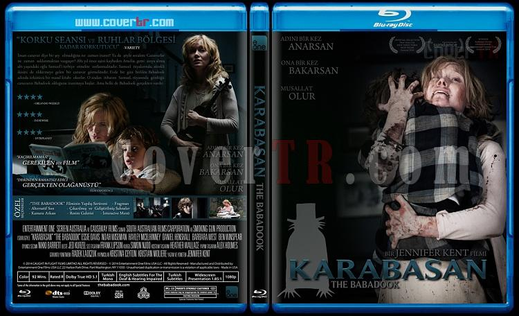 The Babadook (Karabasan) - Custom Bluray Cover - Türkçe [2014]-karabasanjpg