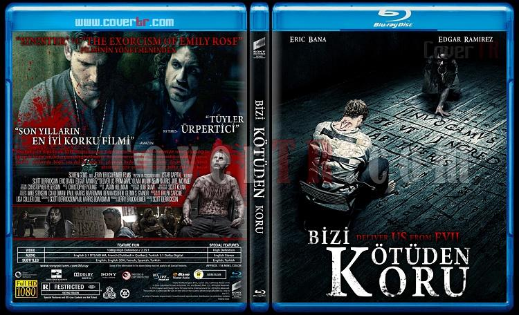 Deliver Us from Evil (Bizi Kötüden Koru) - Custom Bluray Cover - Türkçe [2014]-deliverjpg