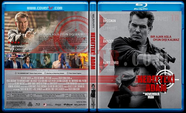 The November Man (Hedefteki Adam) - Custom Bluray Cover - Türkçe [2014]-hedefjpg