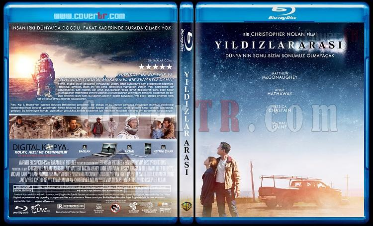 Interstellar (Yıldızlar Arası) - Custom Bluray Cover - Türkçe [2014]-interstellarjpg