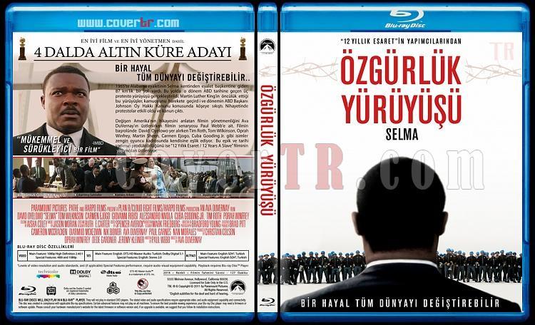 Selma (Özgürlük Yürüyüşü) - Custom Bluray Cover - Türkçe [2014]-selmajpg