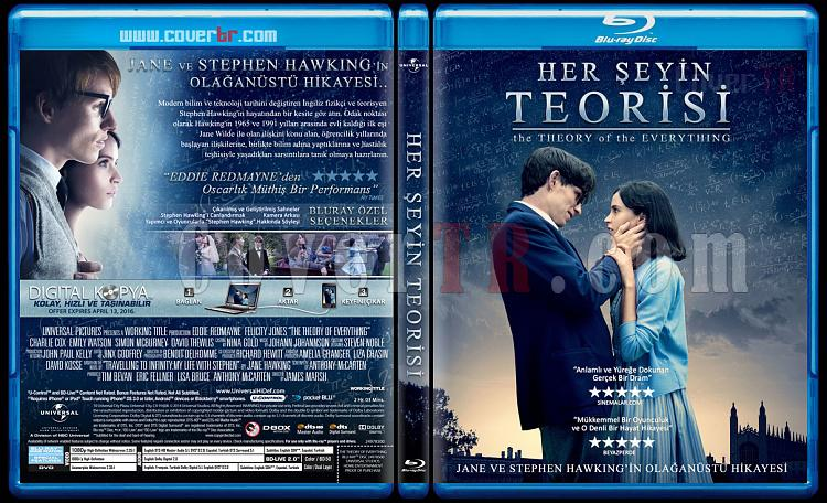 The Theory of Everything (Her Şeyin Teorisi) - Custom Bluray Cover - Türkçe [2014]-theory-everythinjpg