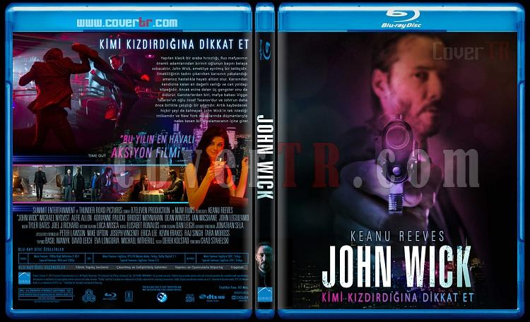 John Wick - Custom Bluray Cover - Türkçe [2014]-john-wickjpg