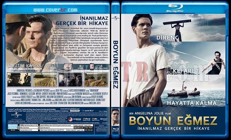 Unbroken (Boyun Eğmez) - Custom Bluray Cover - Türkçe [2015]-unbrokenjpg