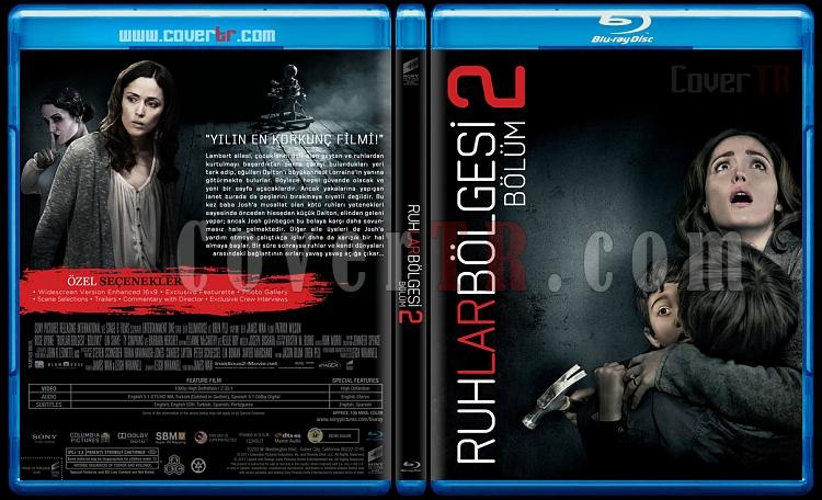 Insidious: Chapter 2 (Ruhlar Bölgesi Bölüm 2) - Custom Bluray Cover - Türkçe [2013]-blu-ray-1-disc-flat-3173x1762-11mmjpg