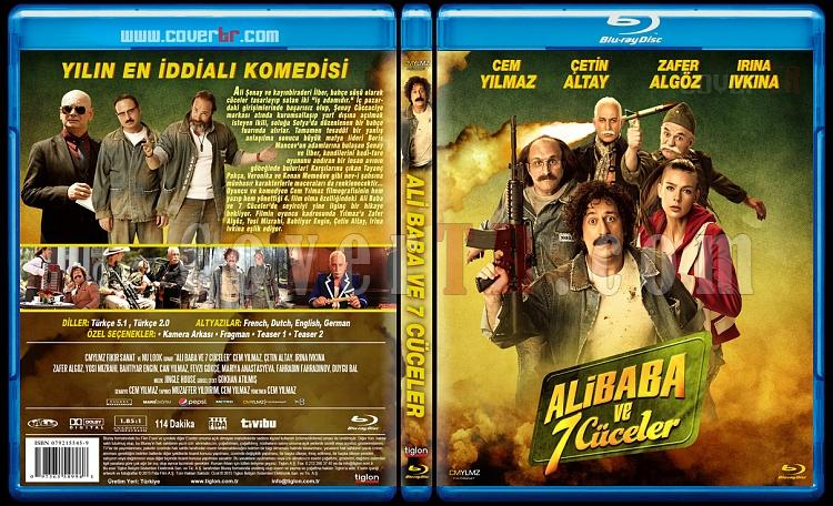 Ali Baba ve 7 Cüceler - Custom Bluray Cover - Türkçe [2015]-ali-baba-ve-7-cuceler-bluray-coverjpg