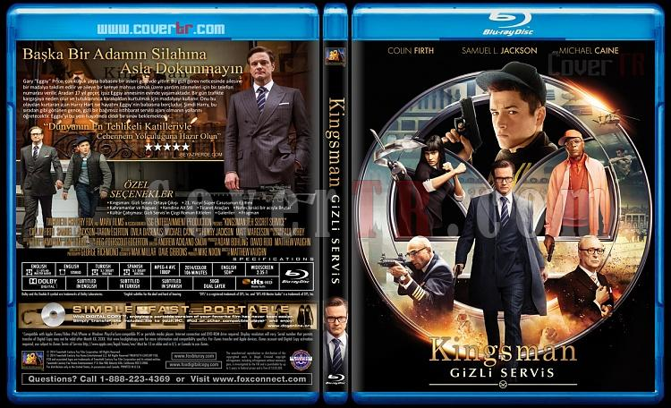 Kingsman-The Secret Service (Kingsman-Gizli Servis) - Custom Bluray Cover - Türkçe [2014]-3jpg