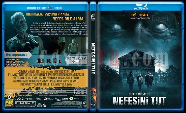 Don't Breathe (Nefesini Tut) - Custom Bluray Cover - Türkçe [2016]-2jpg