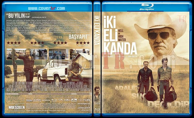 Hell or High Water (İki Eli Kanda) - Custom Bluray Cover - Türkçe [2016]-helljpg