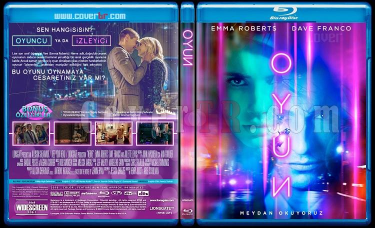 Nerve (Oyun) - Custom Bluray Cover - Türkçe [2016]-nervejpg
