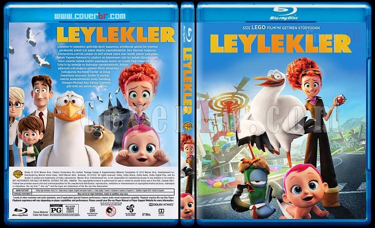 Storks (Leylekler) - Custom Bluray Cover - Türkçe [2016]-previewjpg