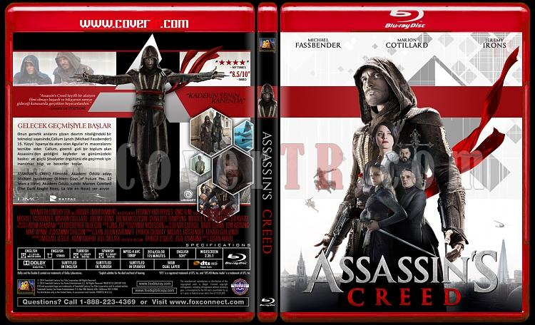 Assassin's Creed - Custom Bluray Cover - Türkçe [2016]-creedjpg
