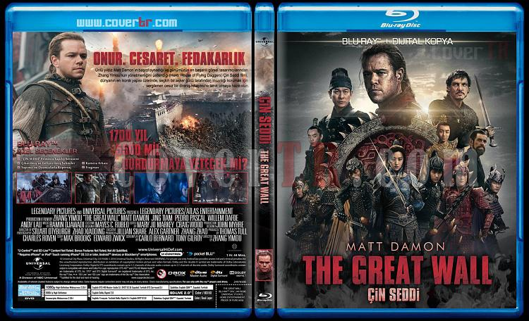 The Great Wall (Çin Seddi) - Custom Bluray Cover - Türkçe [2016]-walljpg