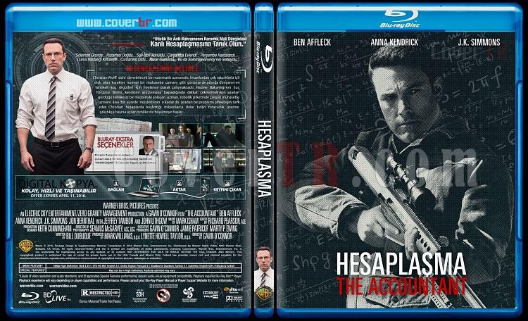 The Accountant (Hesaplaşma) - Custom Bluray Cover - Türkçe [2016]-hesaplasmajpg