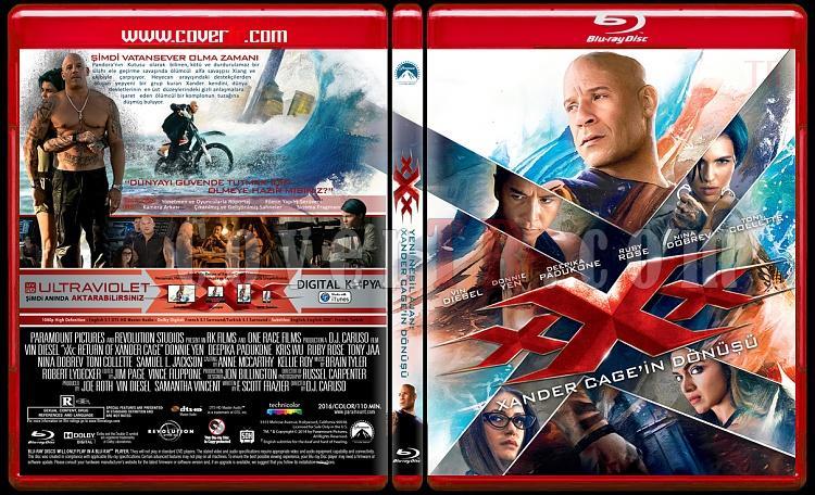 xXx-Return of Xander Cage (xXx-Xander Cage'in Dönüşü) - Custom Bluray Cover - Türkçe [2017]-xxxjpg