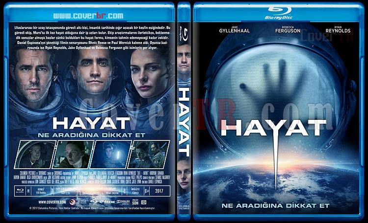 Life (Hayat) - Custom Bluray Cover - Türkçe [2017]-3jpg