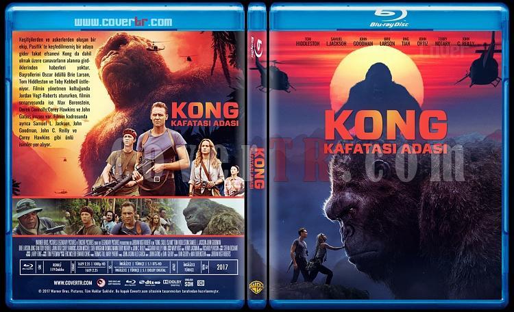 Kong: Skull Island - (Kong: Kafatası Adası) - Custom Bluray Cover - Türkçe [2017]-2jpg