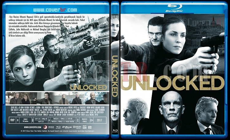 Unlocked (Gizli Kod) - Custom Bluray Cover - Türkçe [2017]-1jpg