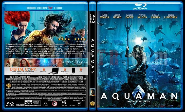 Aquaman - Custom Bluray Cover - Türkçe [2018]-1jpg