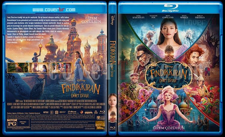 The Nutcracker and the Four Realms (Fındıkkıran ve Dört Diyar) - Custom Bluray Cover - Türkçe [2018]-1jpg