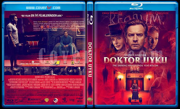 Doctor Sleep (Doktor Uyku) - Custom Bluray Cover - Türkçe [2019]-doctor-sleepjpg